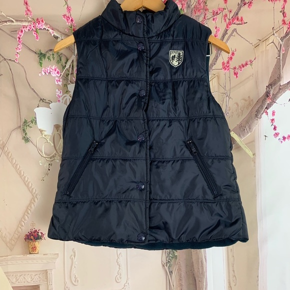 American Eagle Outfitters Jackets & Blazers - AMERICAN EAGLE Blue Navy Warm Winter Puffy Puffer